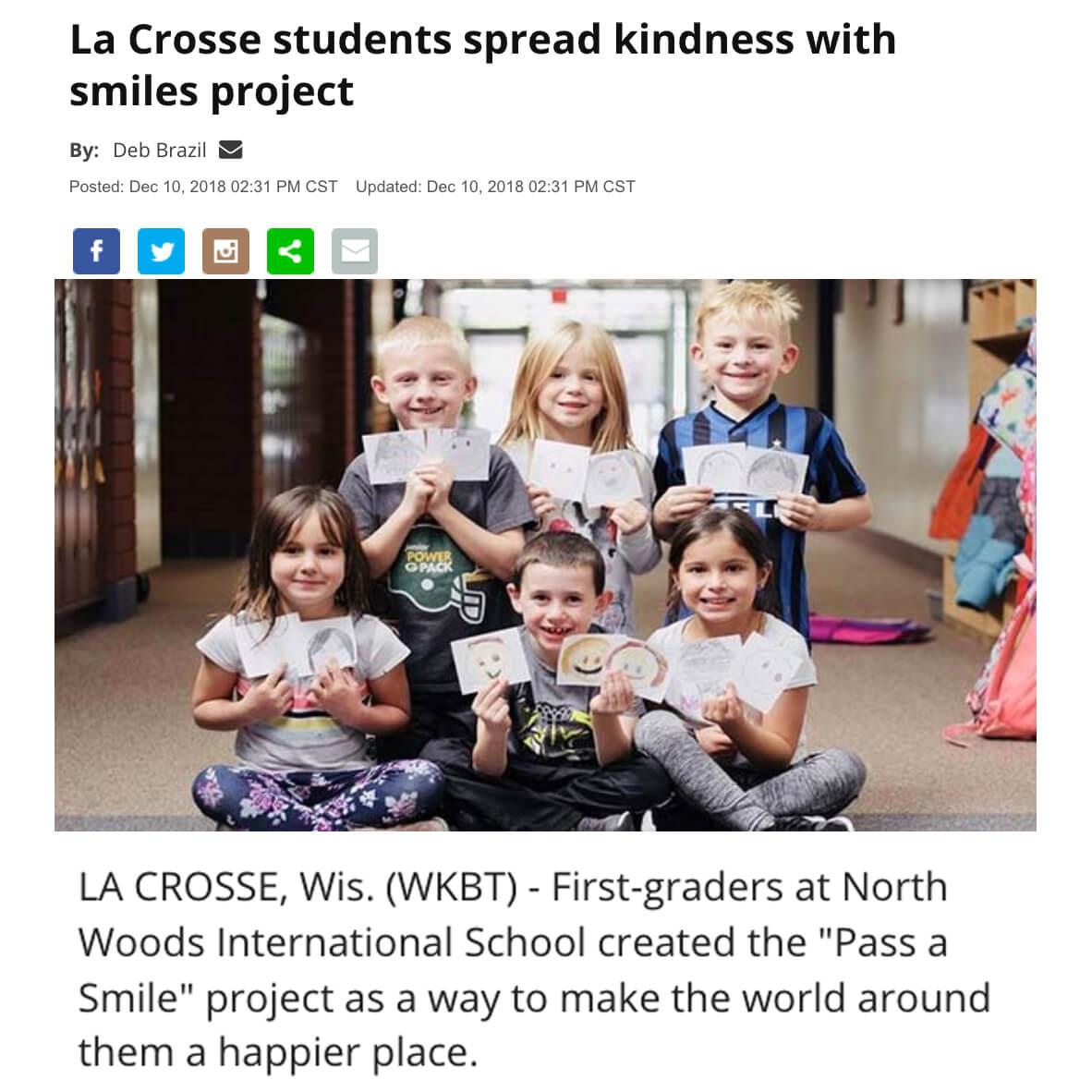 La Crosse Spread Smiles Project