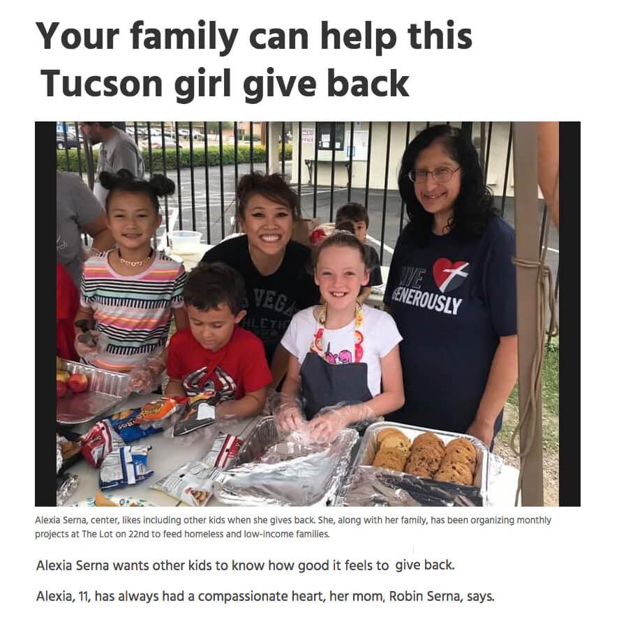 Alexa Kids Kindness Project Tucson