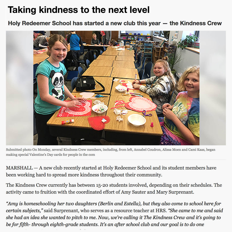 Holy Redeemer Kindness Crew