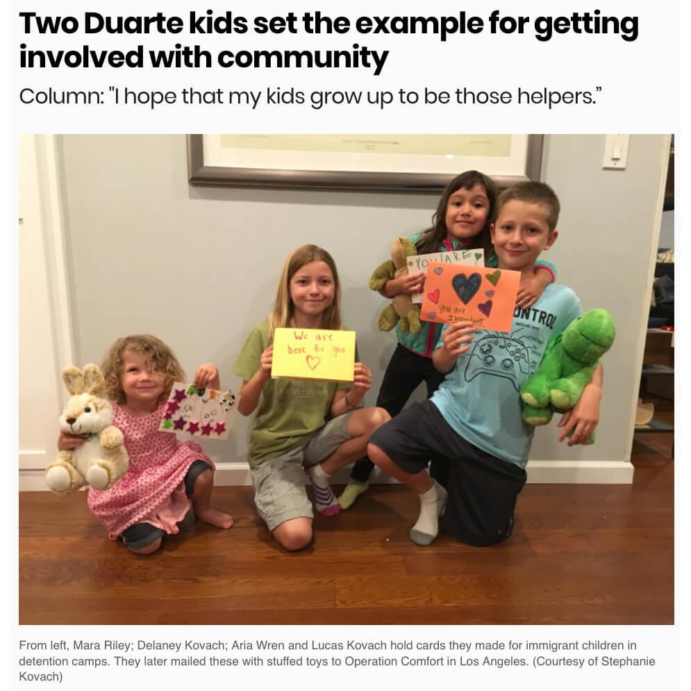 Kids Donate Allowance to Charities
