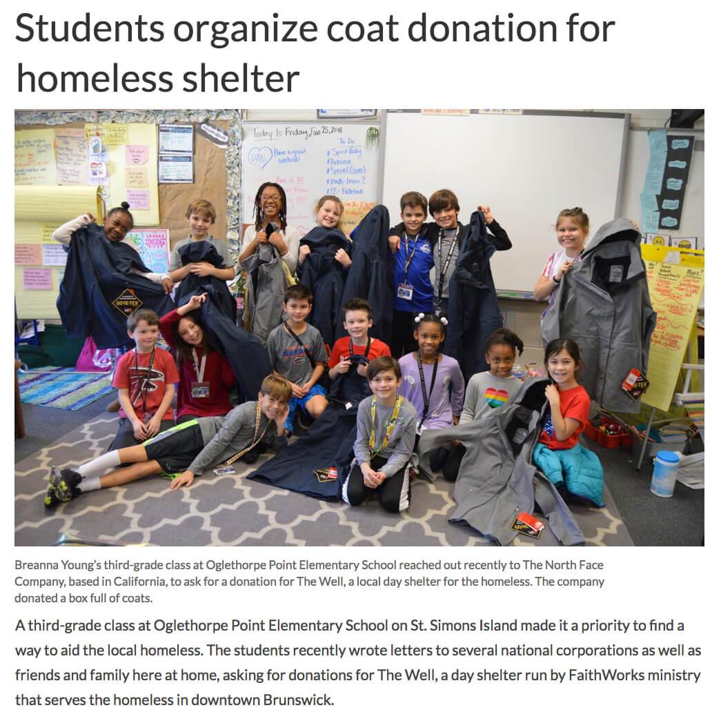 Coats for Homeless