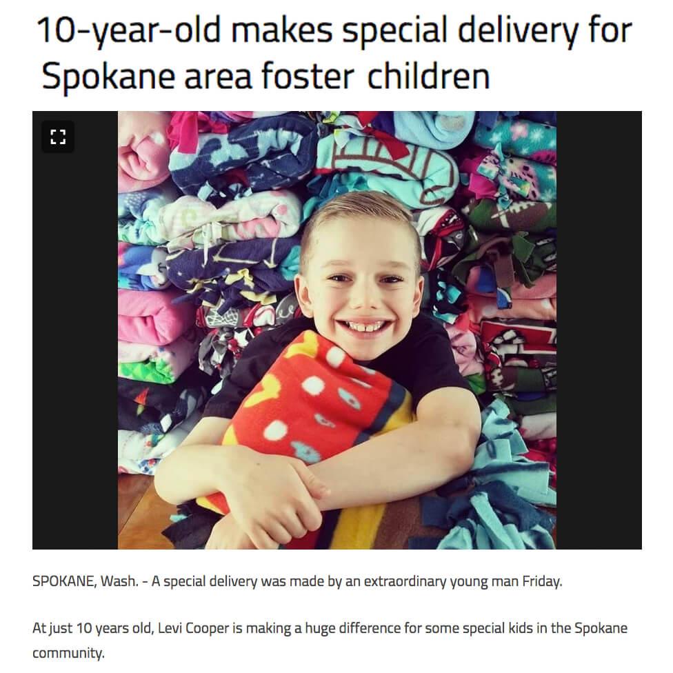 Blankets for Foster Children