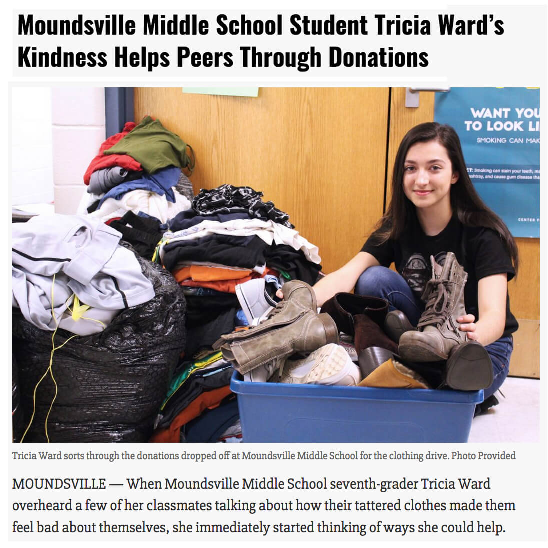 Moundsville Clothing Donations