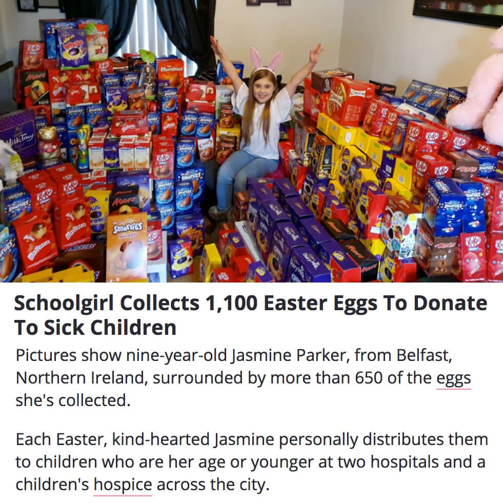 Eggs for Sick Children