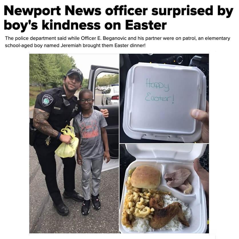 Easter Dinner for Officers
