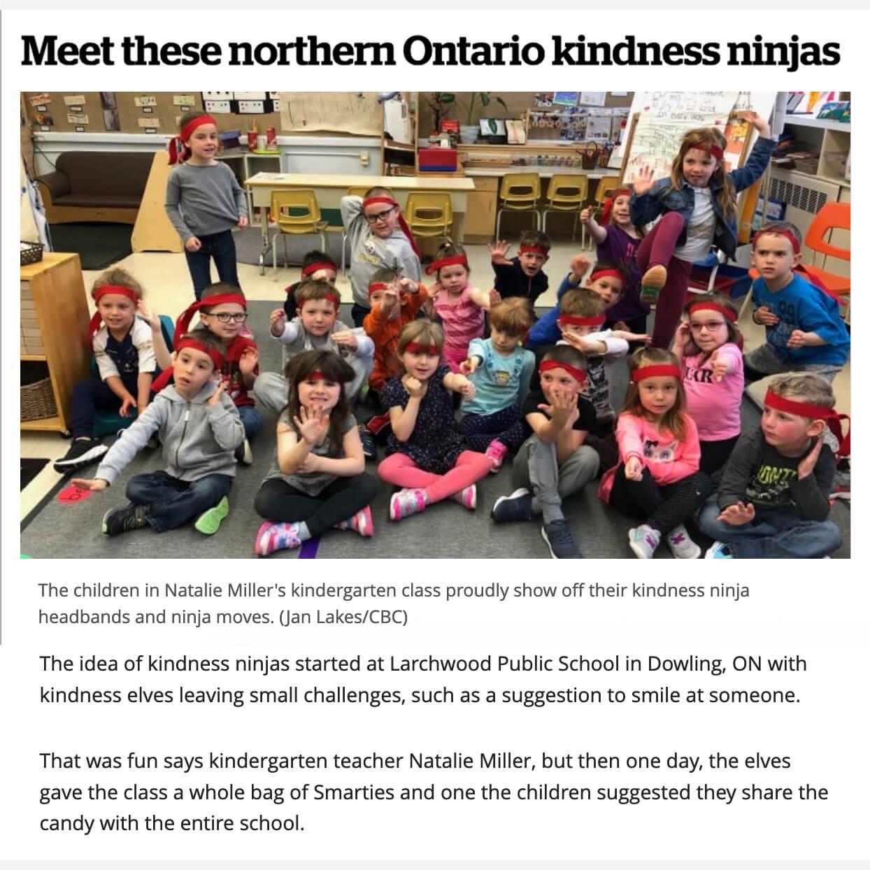 Ontario Kindness Ninjas
