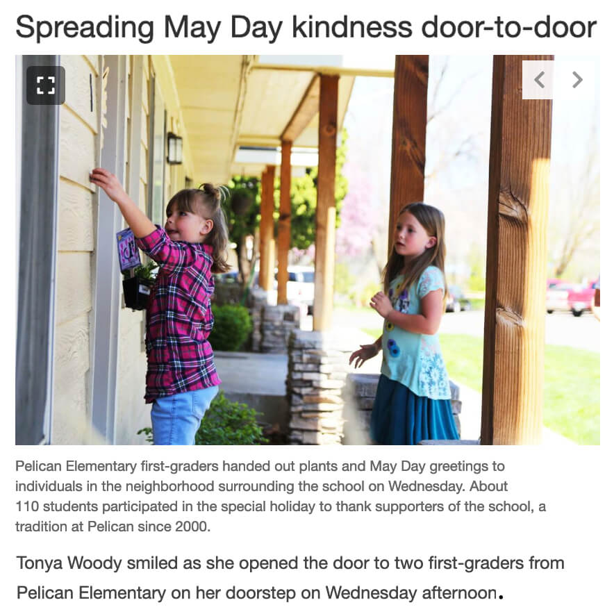 May Day Kindness
