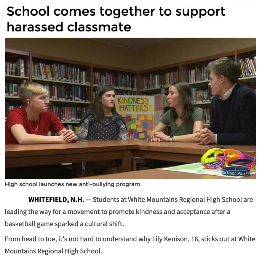 Kindness Matters White Mountain