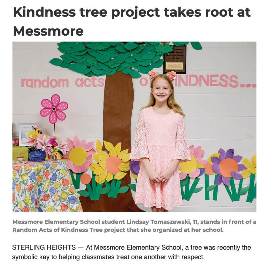 Messmore Kindness Tree