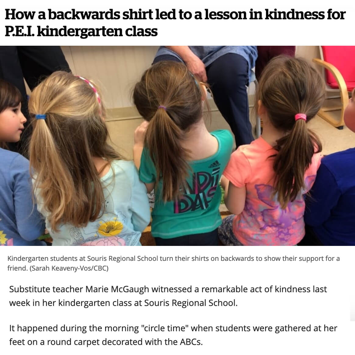 Backward Shirts