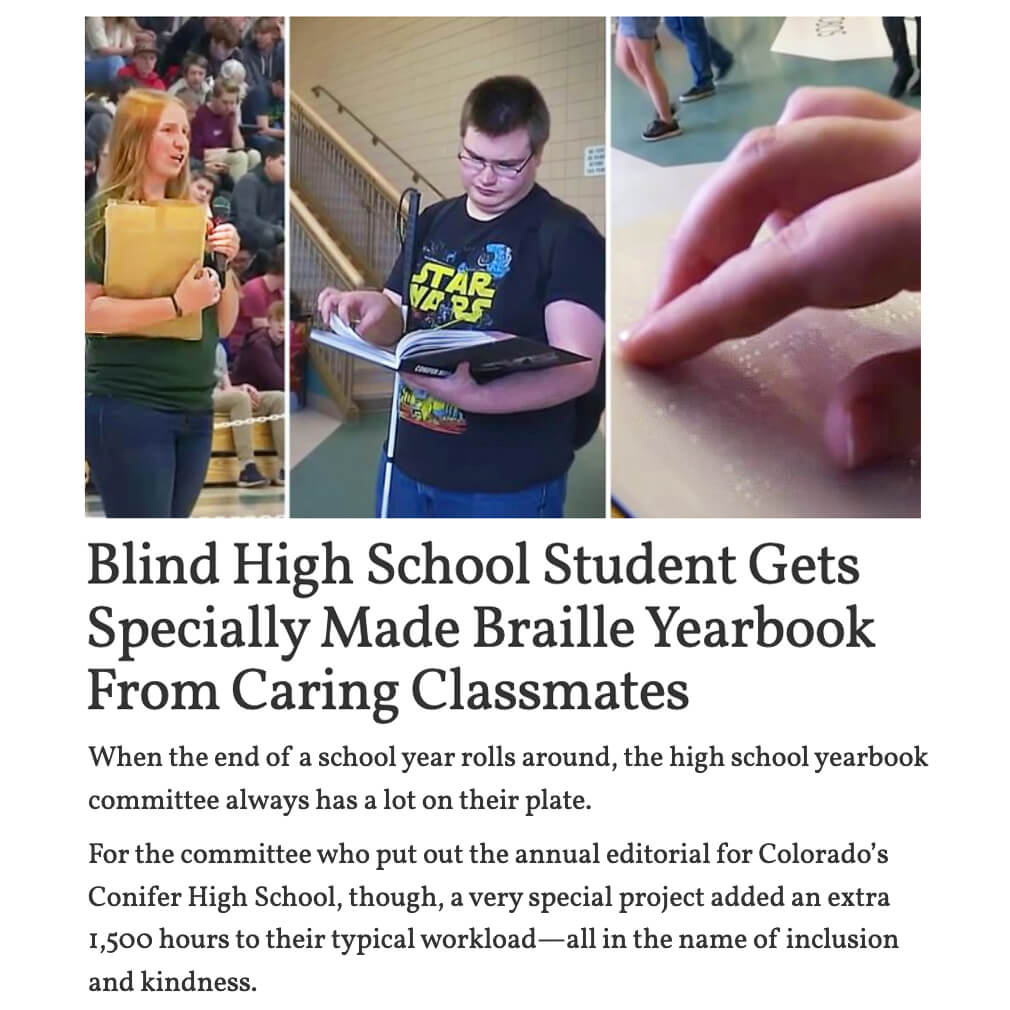 Braille Yearbook