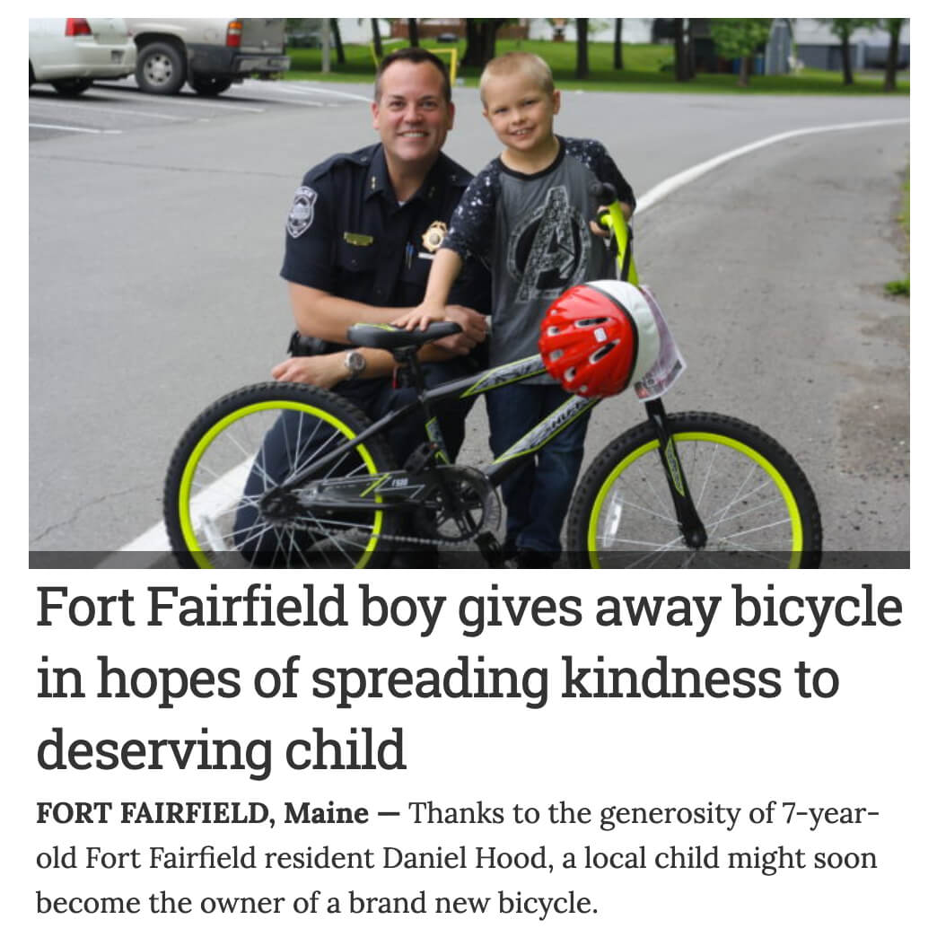 Pay it Forward Bicycle