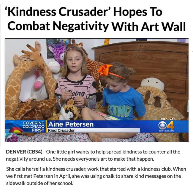 Kindness Art Wall