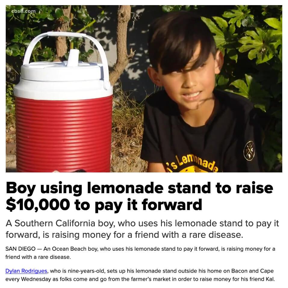 Dylans Lemonade Stand