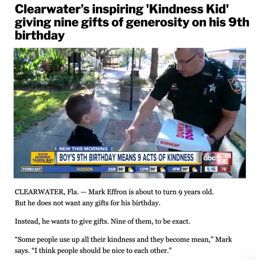 Clearwater Kindness Kid