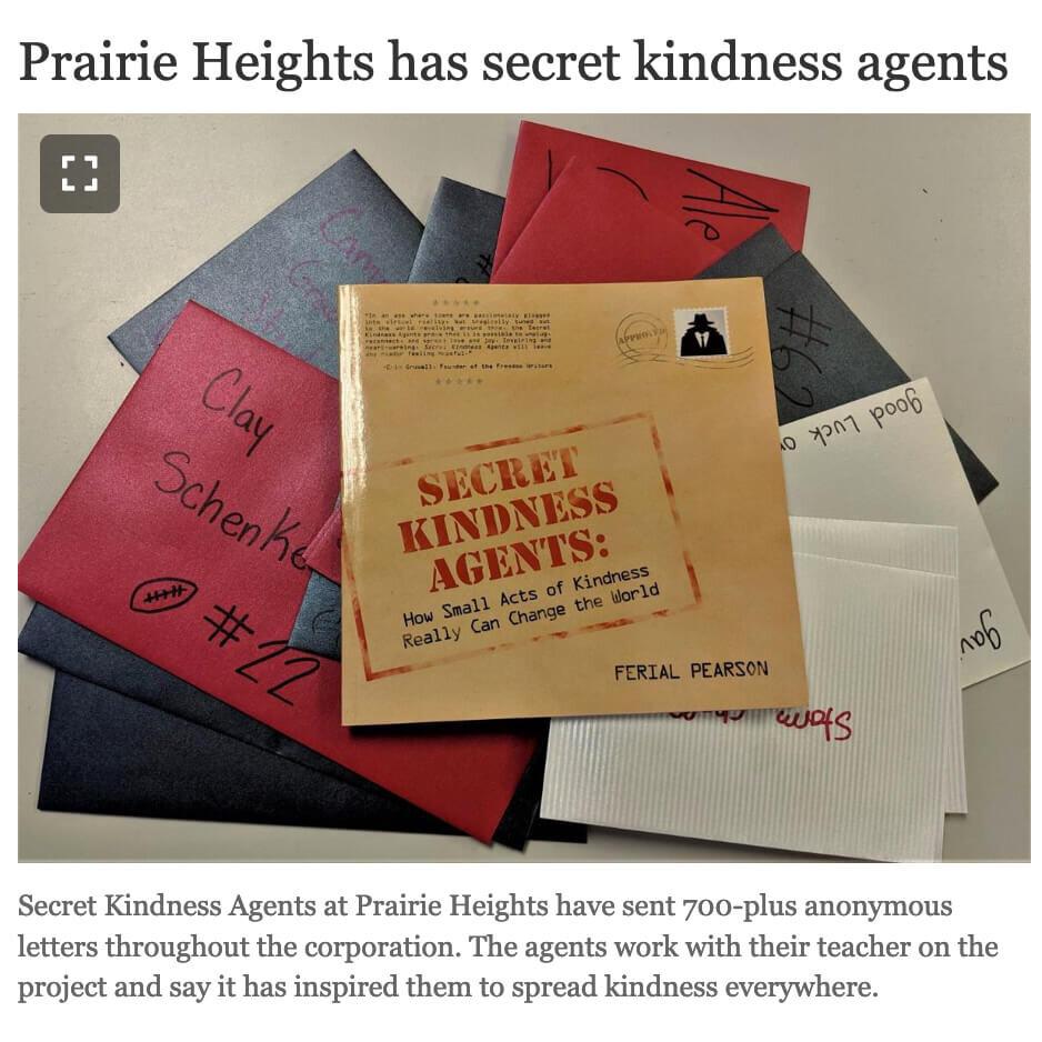 Prairie Heights Secret Kindness Agents