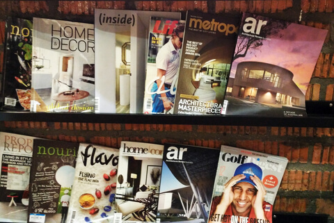 Magazine Donations - The 1st Sunday of each month