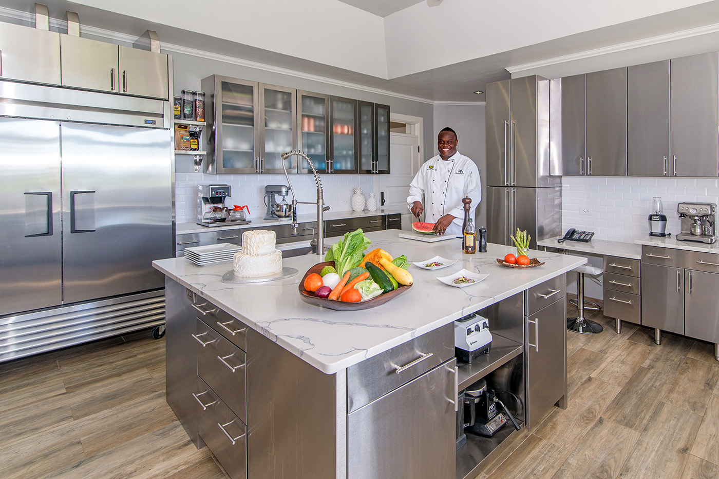 Gourmet Kitchen with Chef
