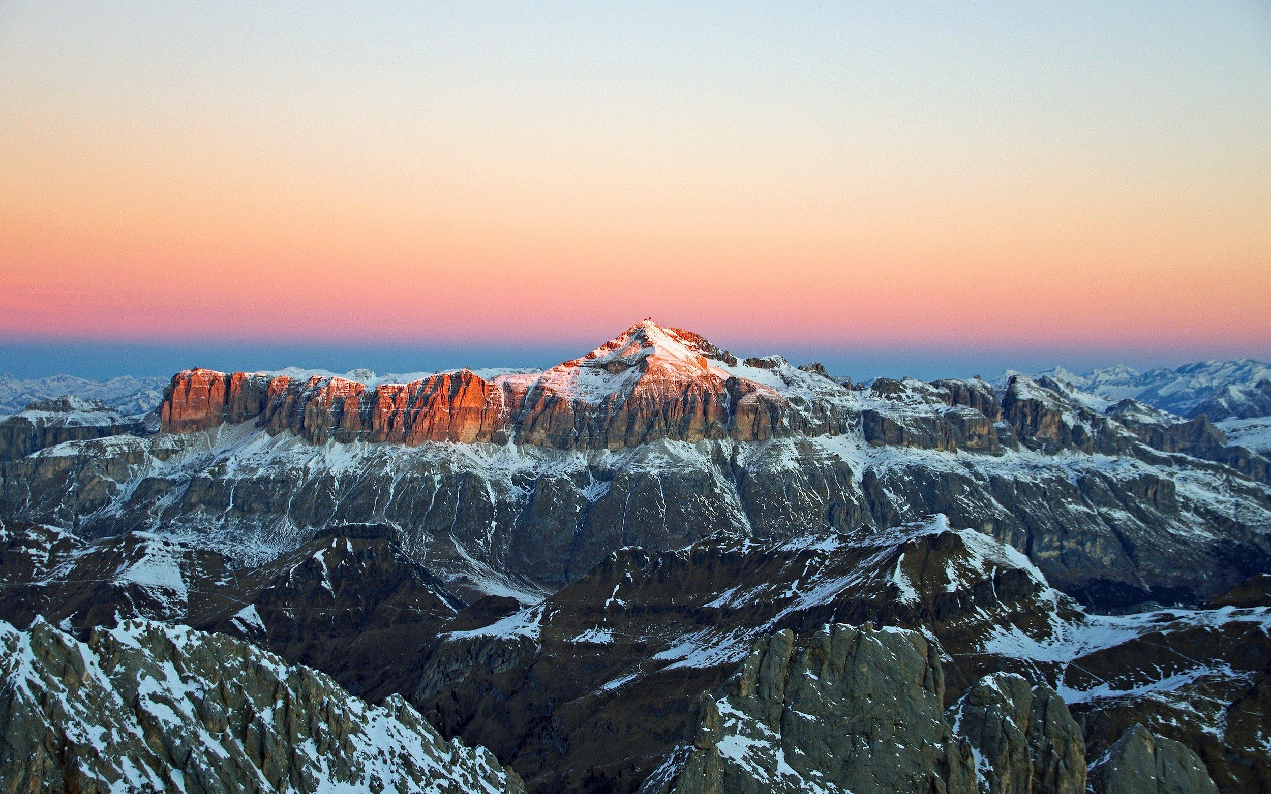 Warren Macdonald - mountain sunset