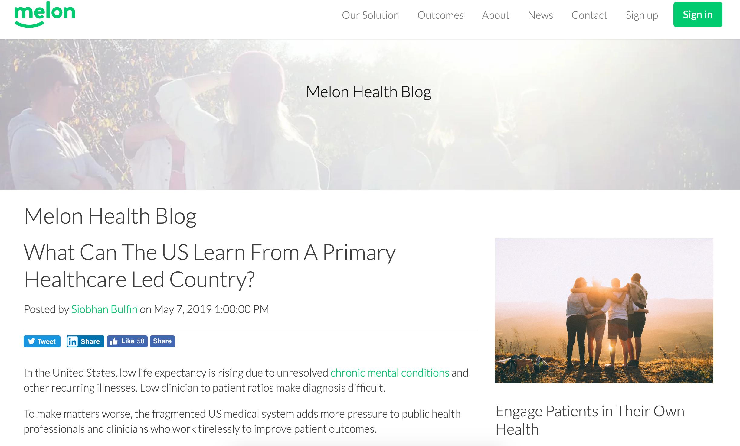 digital health marketing
