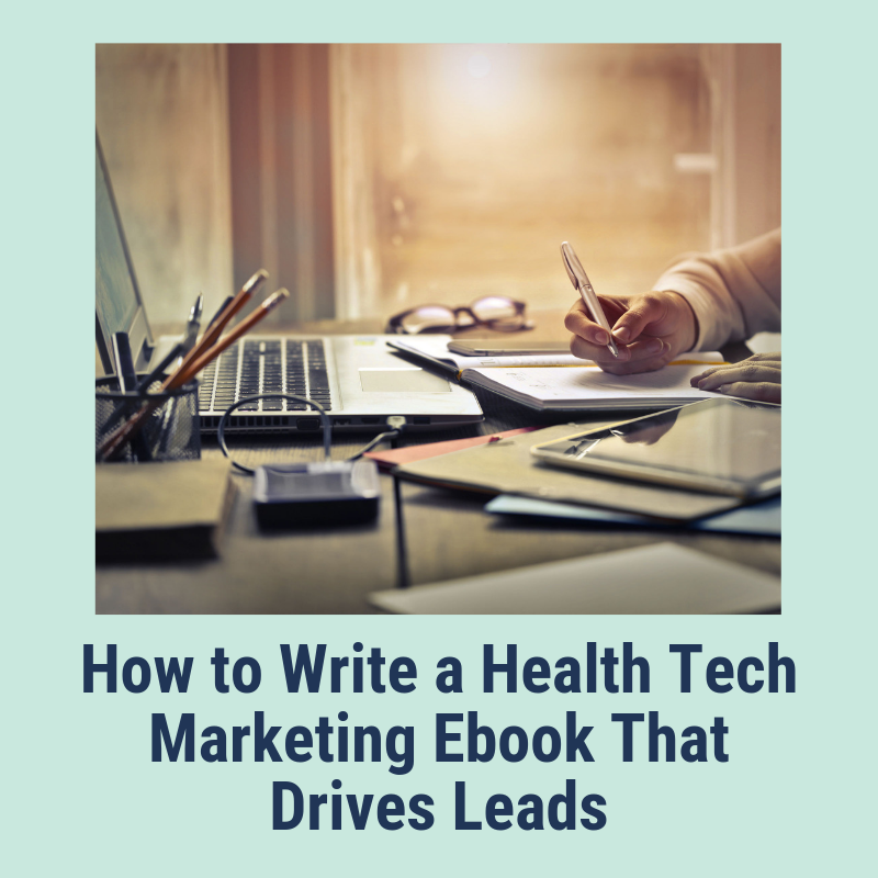 Health tech marketing ebook