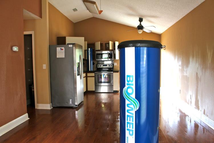 BIOSWEEP MACHINE IN A HOME
