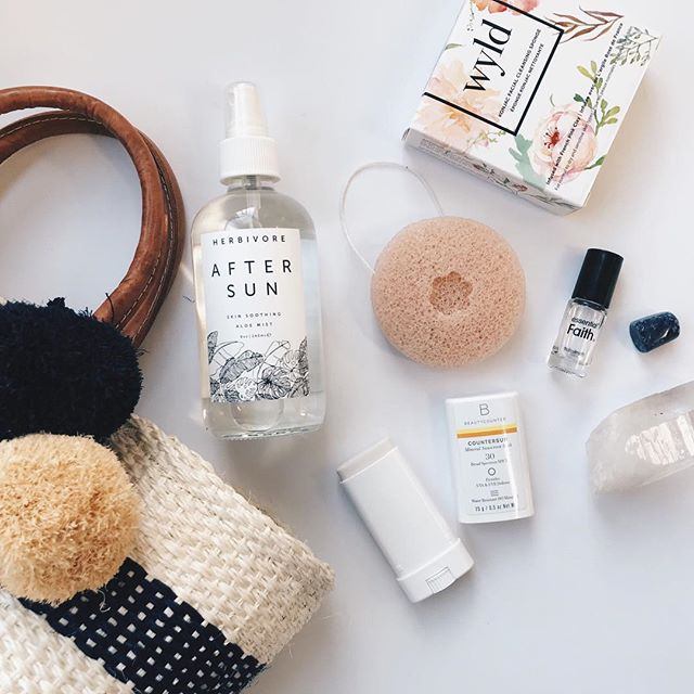 We are getting ready for festival season! @beautycounter sunscreen stick - compact and clean ingredients ✔️ @wyldskincare konjac cleansing sponge - easy on-the-go facial ✔️ @essentialfaith roll-on perfume - small, concentrated bottle keeping you smelling great ✔️ @herbivore after sun spray - refreshing, nourishing skin pick-me-up for your whole body ✔️ #marysol tote bag with poms - keeping your hands light and your bag game on point ✔️ ⠀⠀⠀⠀⠀⠀⠀⠀⠀ ⠀⠀⠀⠀⠀⠀⠀⠀⠀ ⠀⠀⠀⠀⠀⠀⠀⠀⠀ ⠀⠀⠀⠀⠀⠀⠀⠀⠀ #beautywyld #beauty #lashes #makeup #mua #brows #brentwood #losangeles #instabeauty #eyelashes #longlashes #naturallashes #lashesonpoint #eyelashextensions #instabeauty #beautyblogger #mua #beautybar #beautylounge #model #beautifullashes #lashlift #lashperm #losangeleslashes #beforeandafterlashes #westlalashes #losangelesmakeupartist #southerncalifornialashes #losangeleslashartist