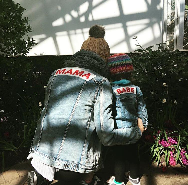 Mama Denim Jacket / Ingrid & Isabel Maternity • @robinpic