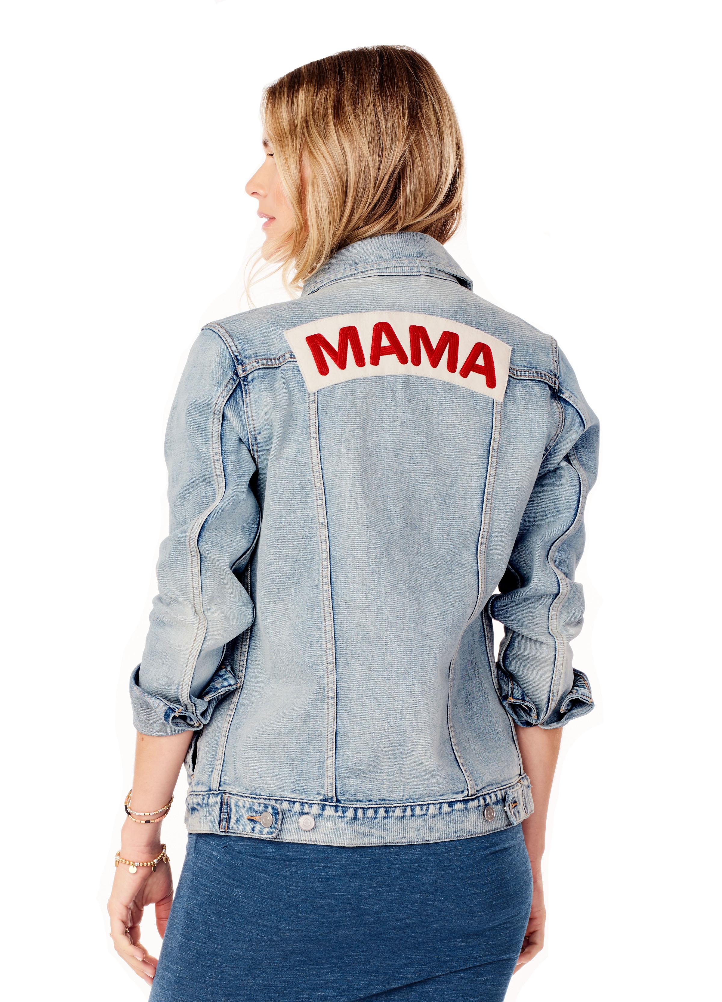 Mama Denim Jacket • Ingrid & Isabel
