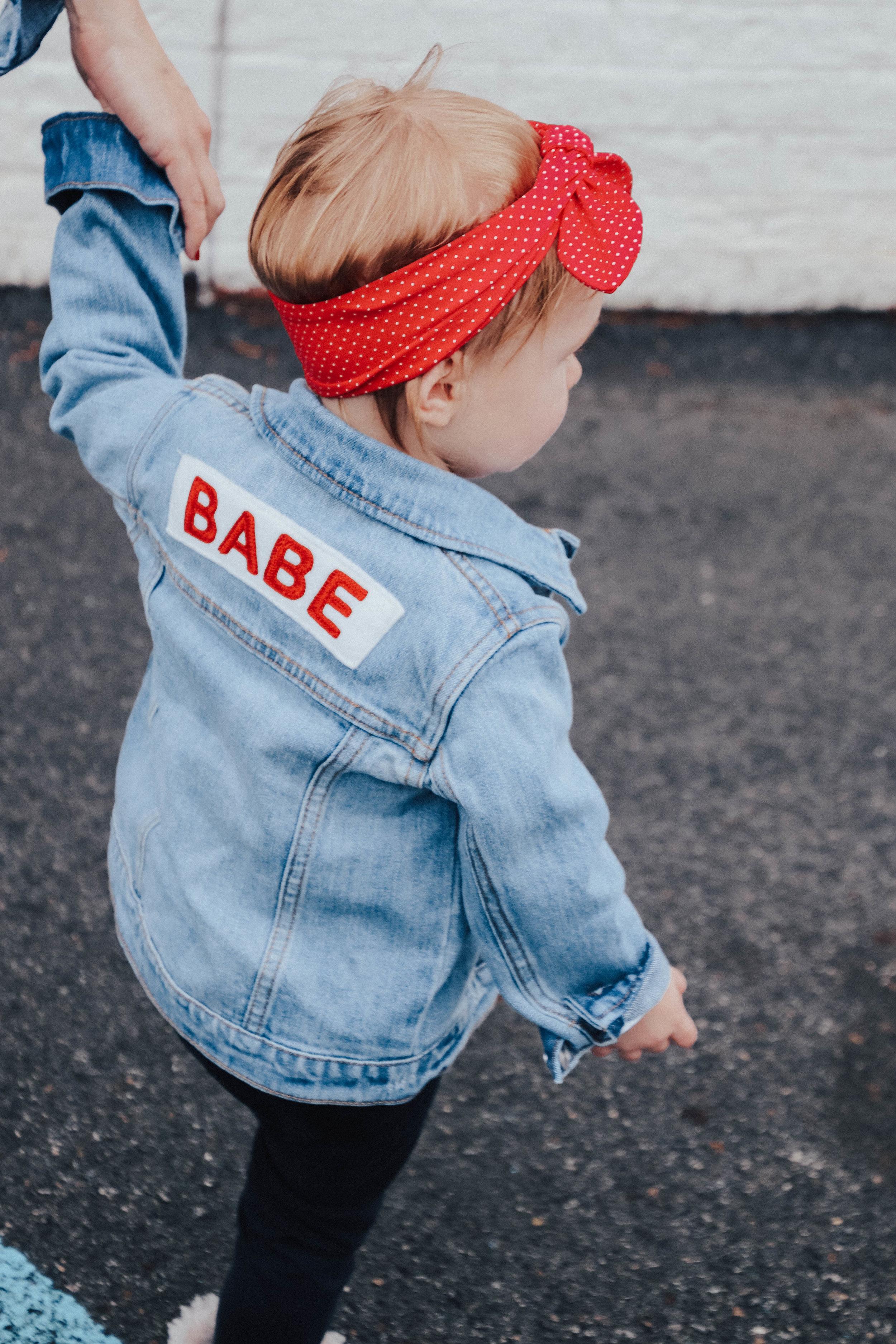 Babe Denim Jacket • Ingrid & Isabel