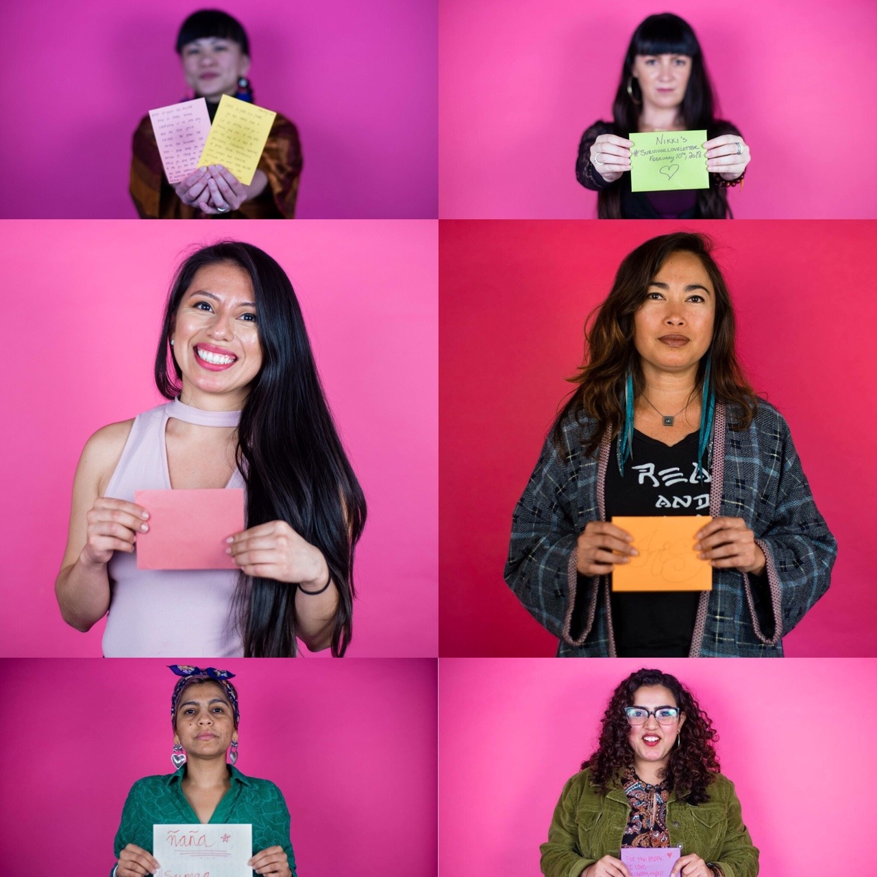 Our first LA #survivorloveletter workshop! Help us flood the internet with love for survivors this feb. 14th.