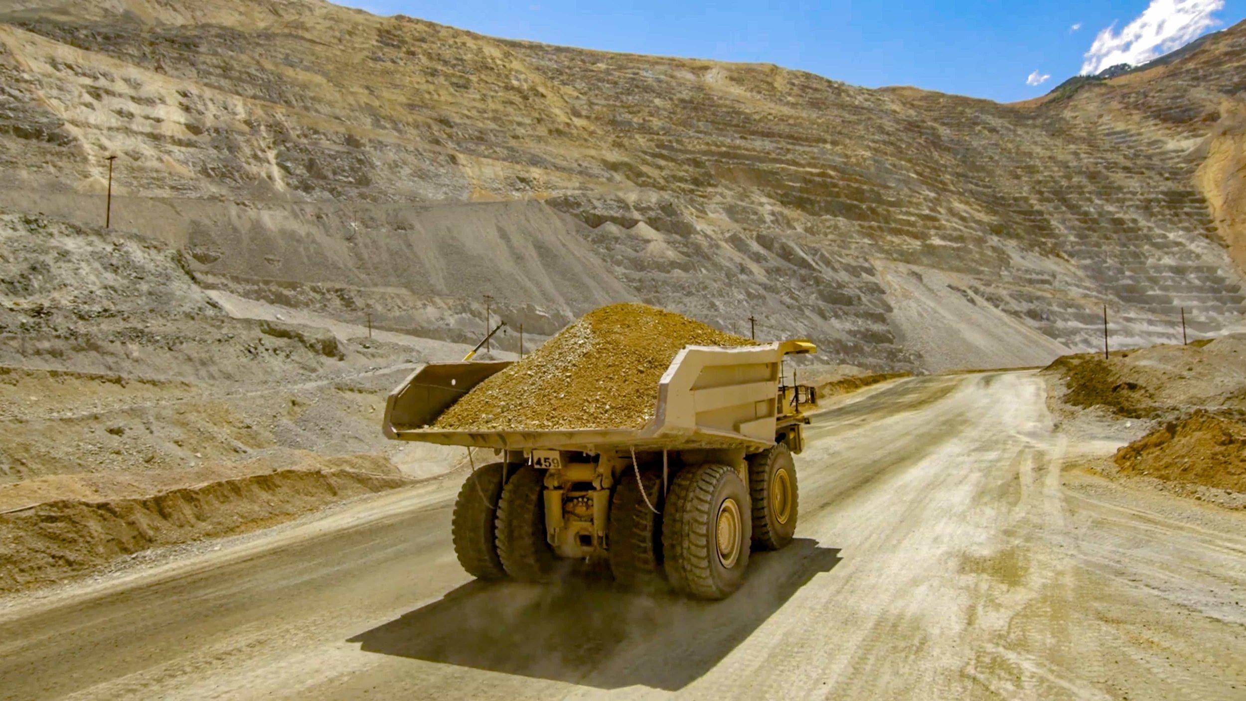 Salt Lake City Copper Mine