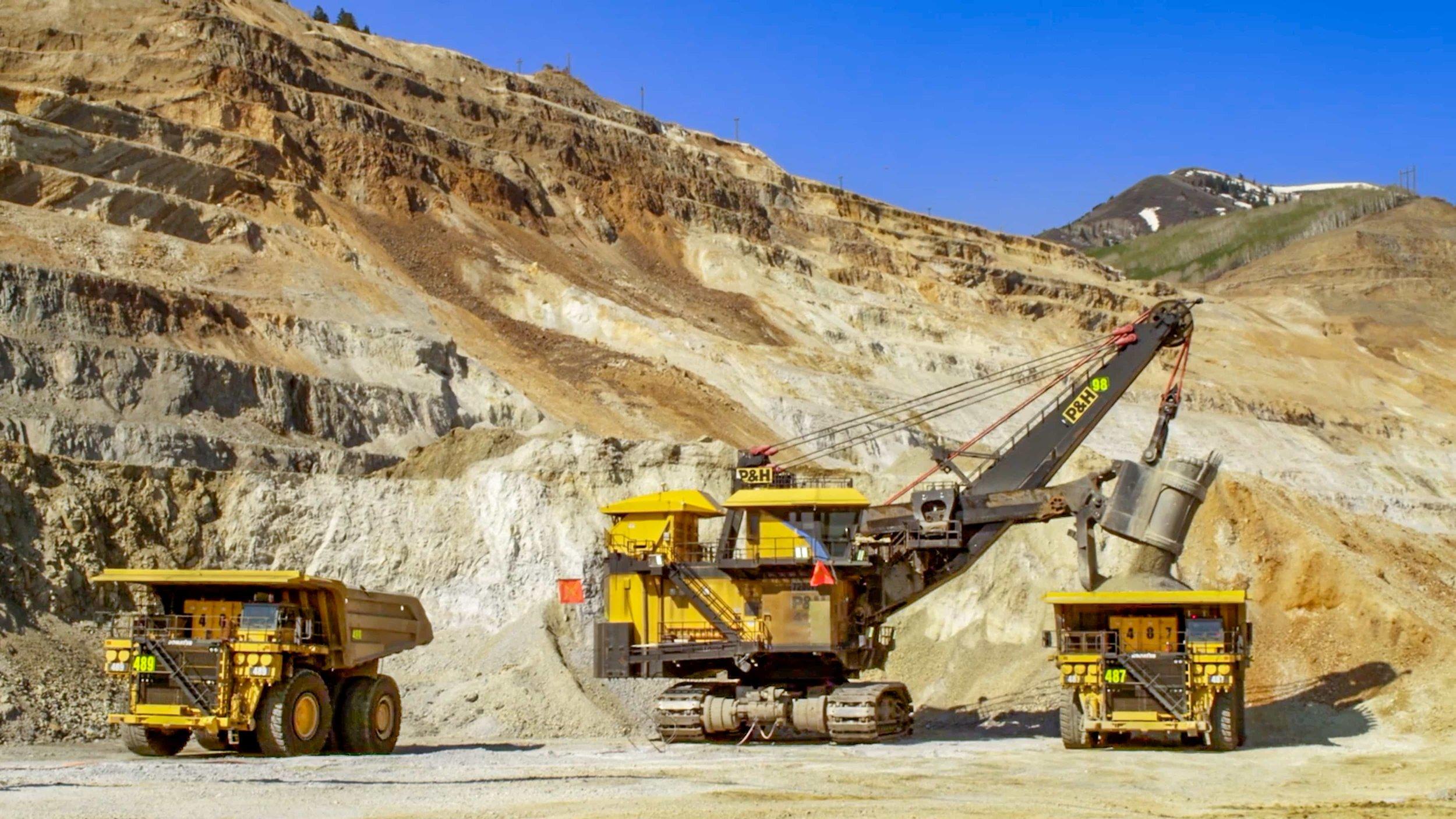 Visit the Kennecott Copper Mine