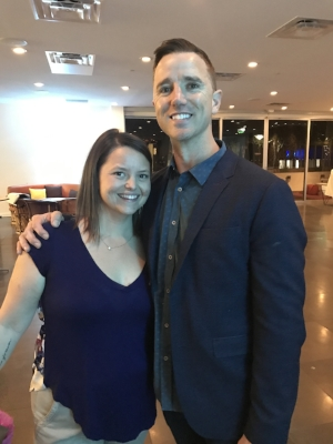 Anna and Billy at the 2017 Colleen's Dream Golf and Gala VIP Cocktail Party
