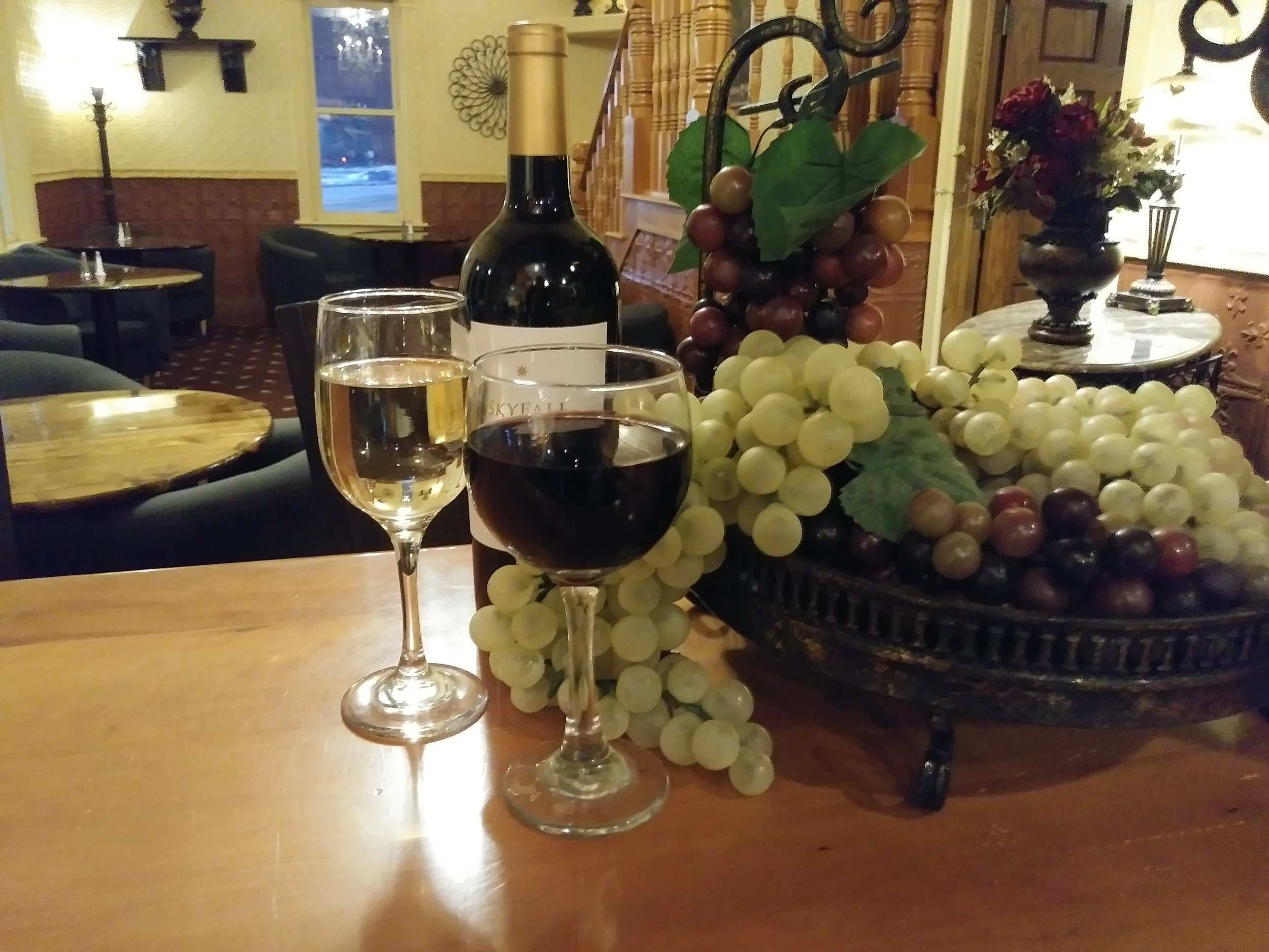 Wine list - Two for ones~ house wines~ 4pm-6pm