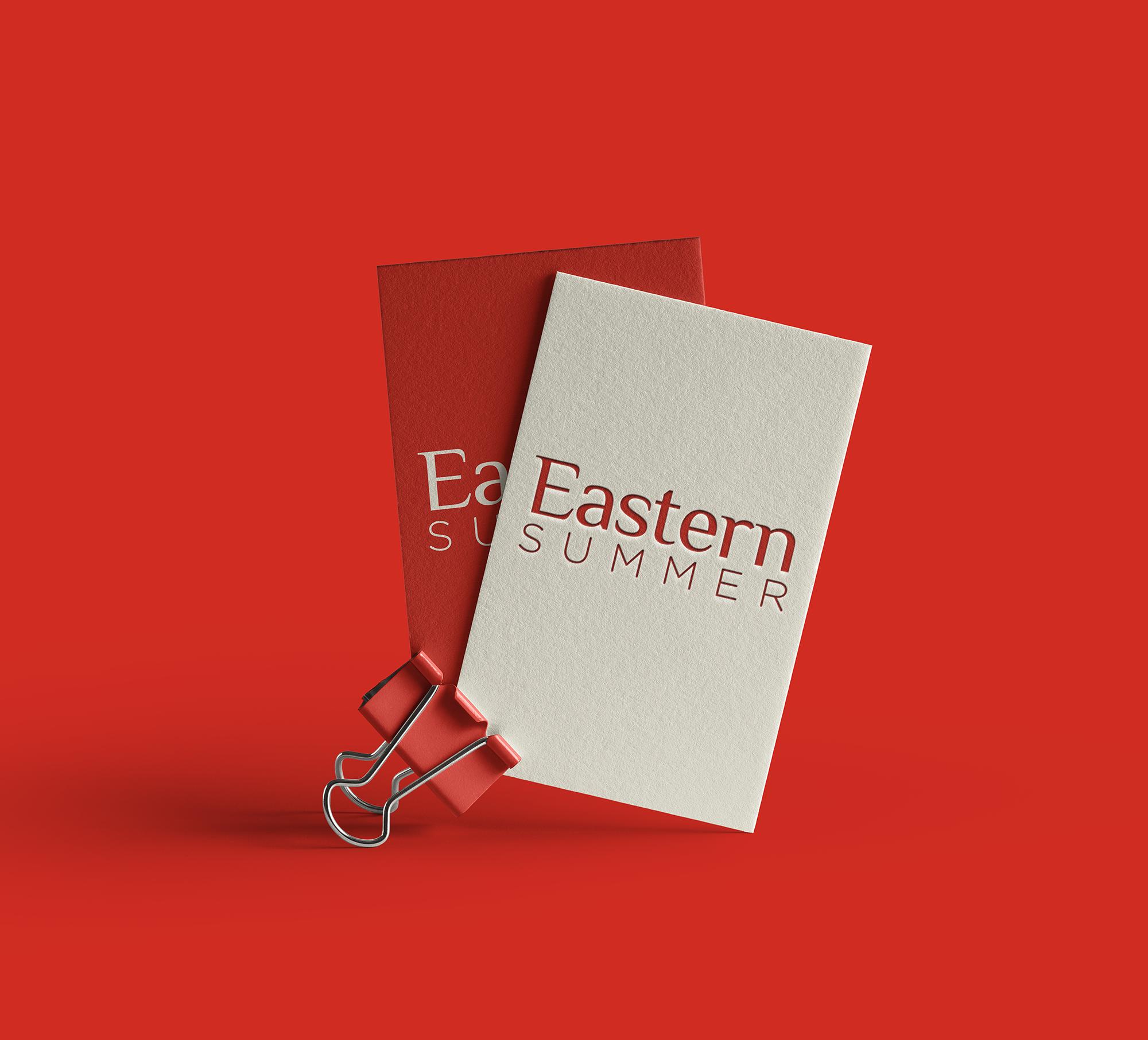 Eastern Summer brandning cards