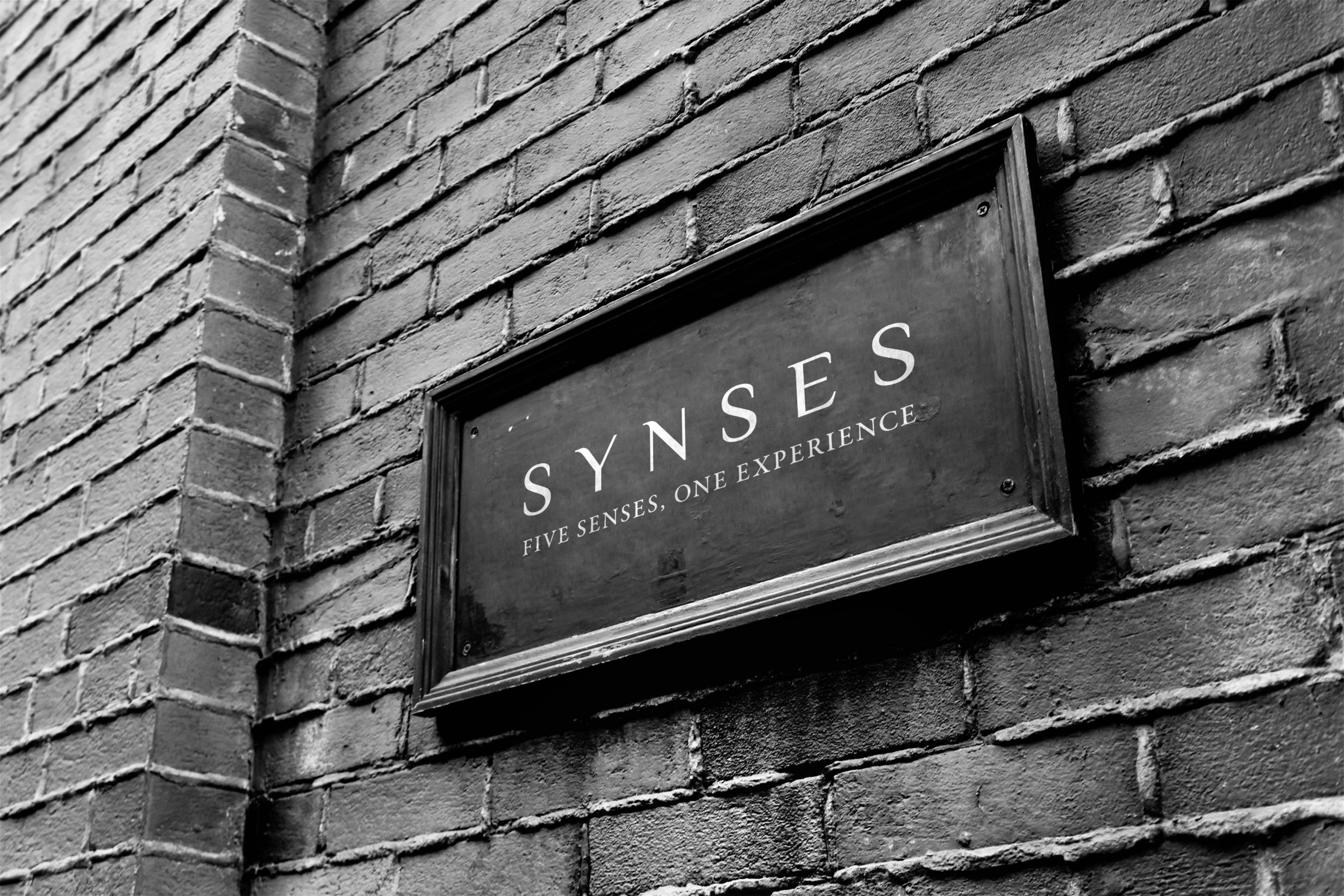 Synses board outside grungy
