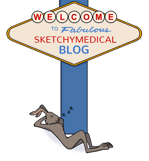 - Welcome to SketchyMedical's brand new blog! This has been a work in progress for almost a year now and we are so excited that we can finally share it with you! Enjoy!