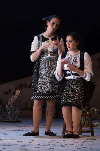 As Nada in  Svadba  at Bard Opera Theatre.  Photo Credit: Karl Rabe 2018.