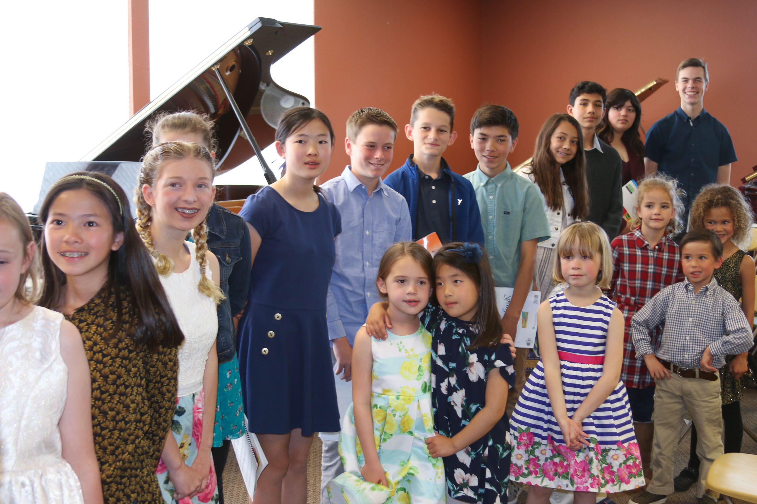 We offer a modern and creative approach to learning the piano that ensures a high-quality and well-rounded music education. Students thrive in our diverse and inclusive community, and families enjoy a selection of programs to help support every kind of student. -