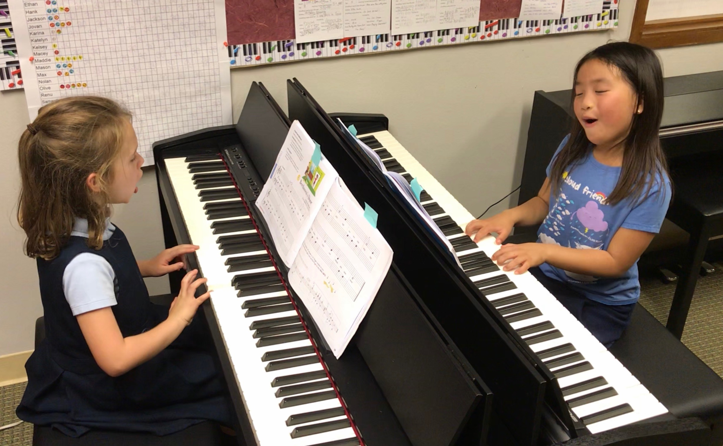 We take pride in helping our students develop a wide array of musical skills, including improvisation, composition, ensemble playing, and performance. Classes are tailored to inspire and motivate students - we make learning as exciting and fun as it can be! -