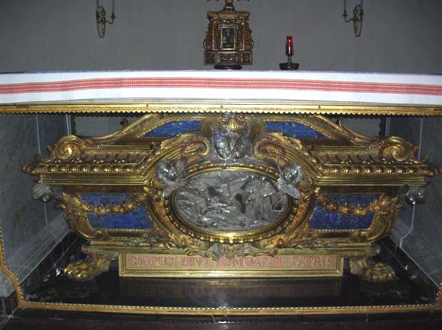 The Tomb of St. Romuald
