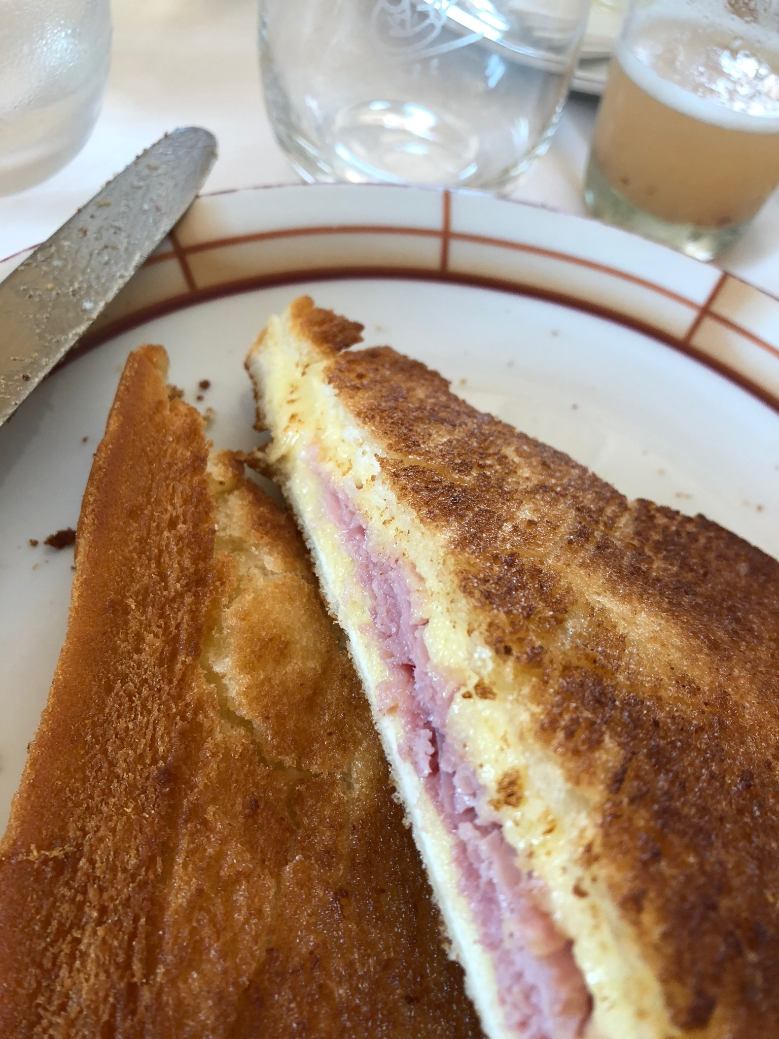 Harry's Bar  Croque-Monsieur & the famous Bellini-delicious although a bit overrated
