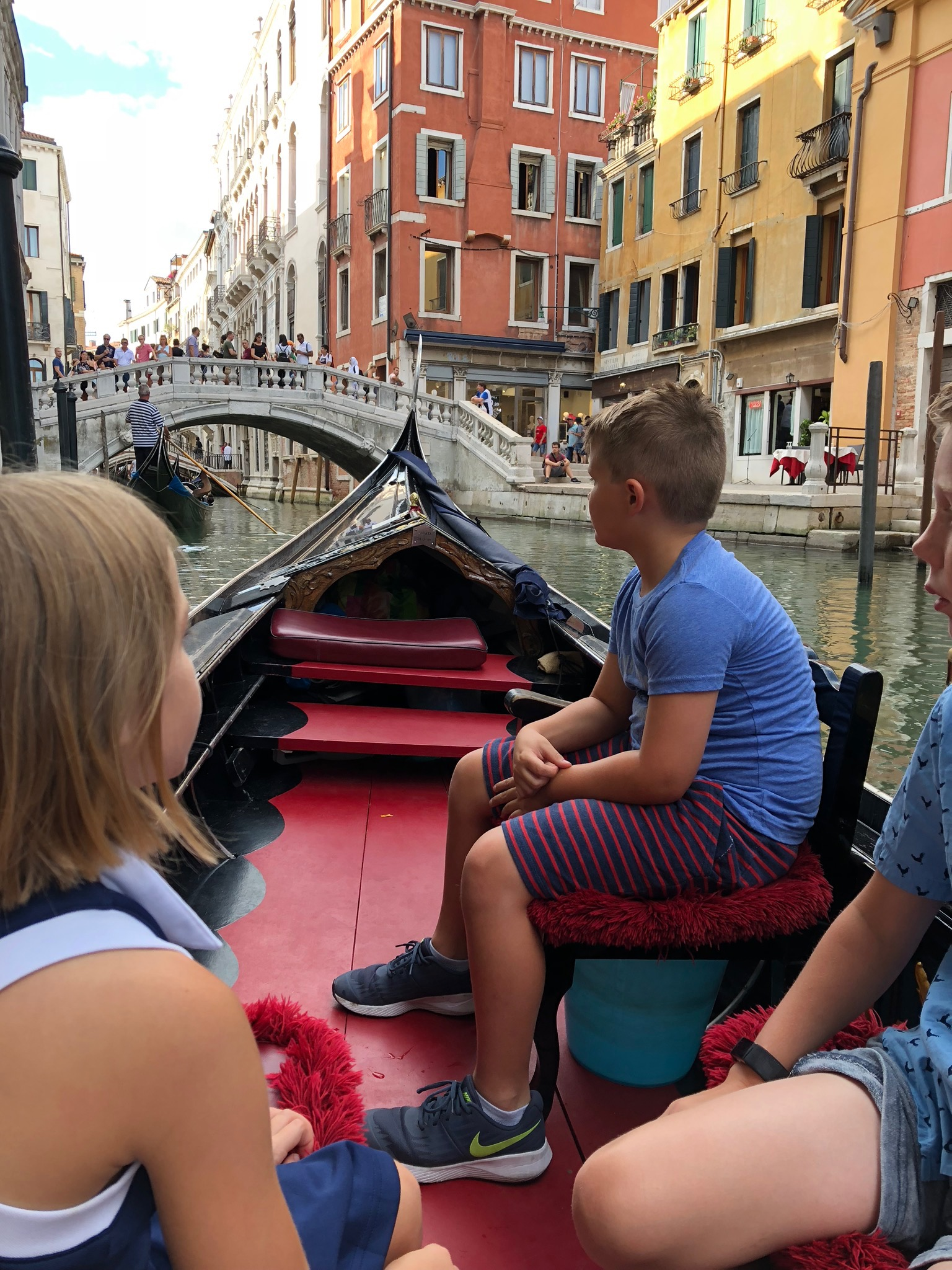 The iconic gondola ride did NOT disappoint. We loved our holiday in every way - so grateful.