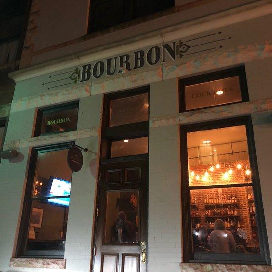 The Amsden Bourbon Bar - Brett's favorite local bourbon bar. All the best bourbon by the glass as well as tasty cocktails, great atmosphere and helpful bartenders!https://www.amsdenbourbonbar.com/