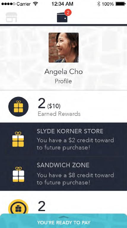 Earned Rewards
