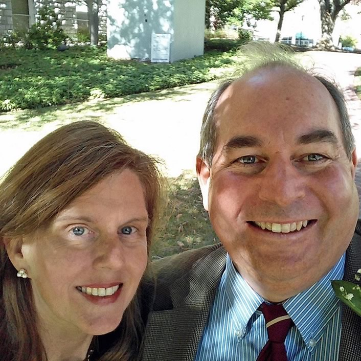 Lucy Williams and Bill Balaban, resident innkeepers