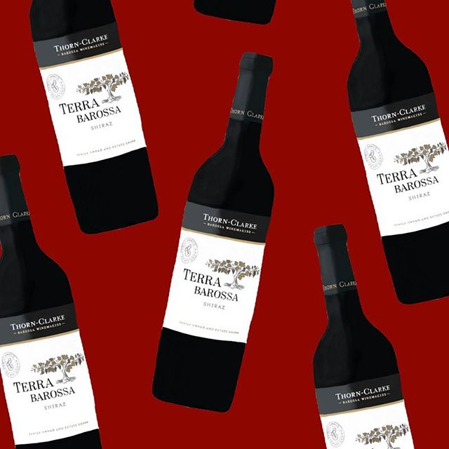 Official review is up of the 2017 Terra Barossa Shiraz! 👏🏻 I wrote on a yummy, spicy, delicious wine from the lovely @thornclarke. Link in bio! 💃🏻 Cheers! • Illustrations by me, @hanpainteddesigns 🎨