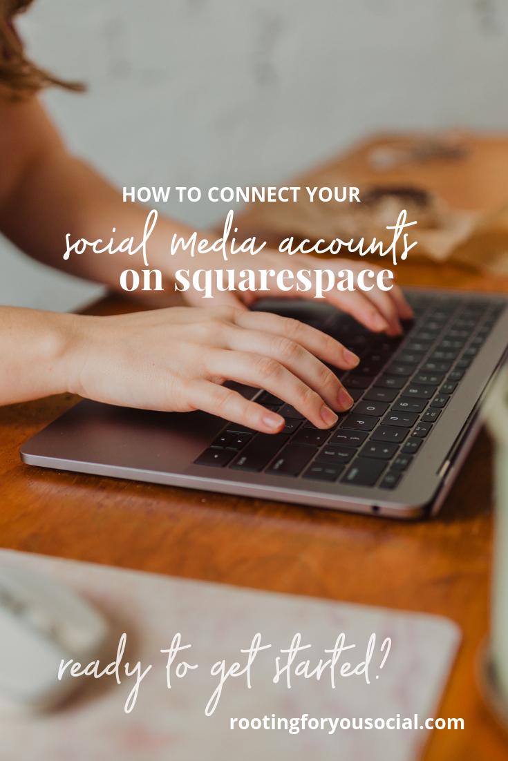 Tutorial: How to Connect Social Media Accounts on Facebook | Website Designer for Adventure  Photographers and Outdoor Entrepreneurs | Sam Weiler, Website Designer | rootingforyousocial.com
