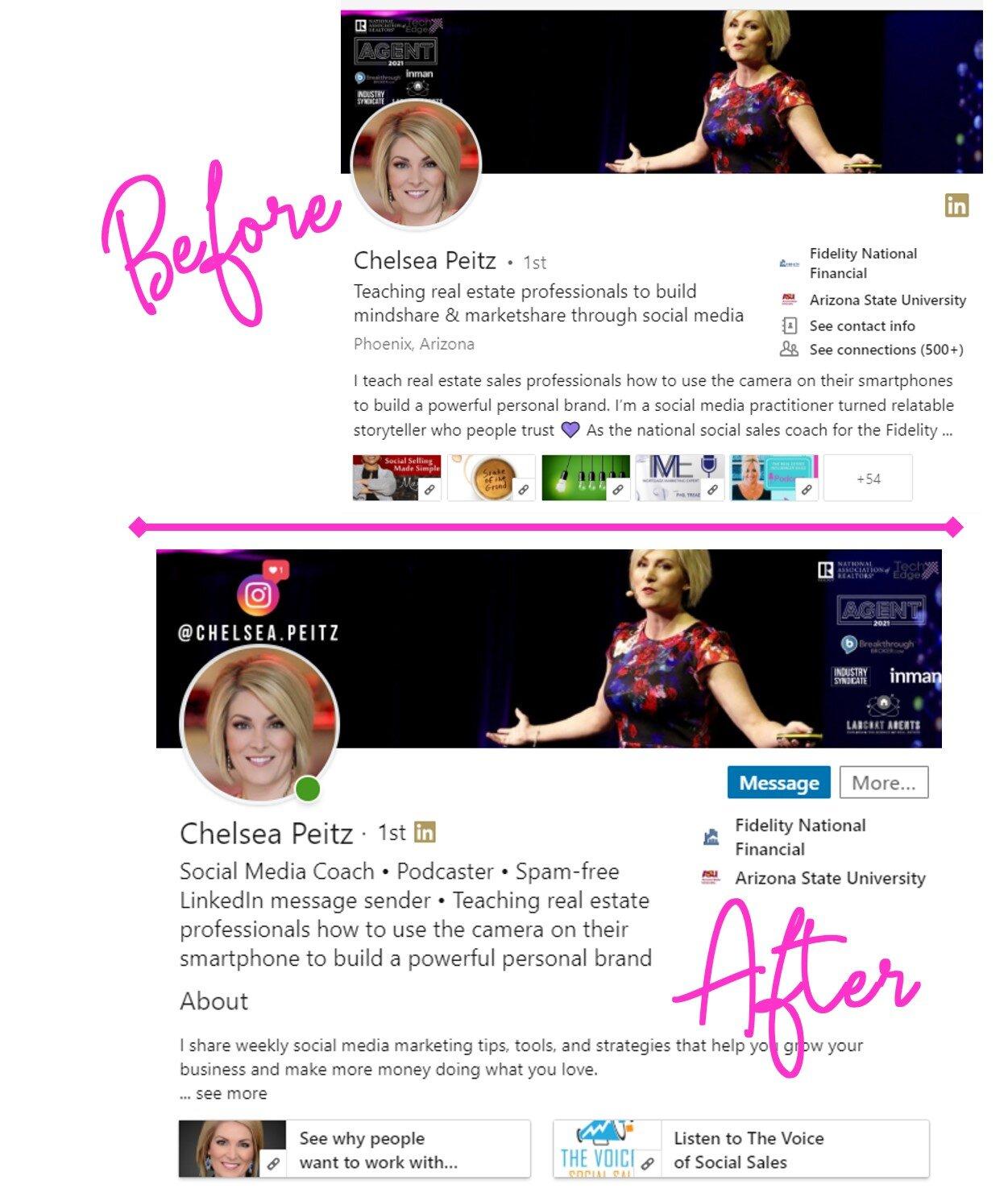 Chelsea Peitz LinkedIn Judi Fox LinkedIn Business Accelerator The Voice of Social Sales Podcast.jpg